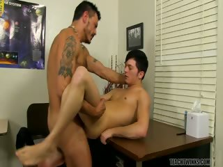 Porn Tube of Taking A Hard Boss Boner! - Collin Stone And Ryker Madison