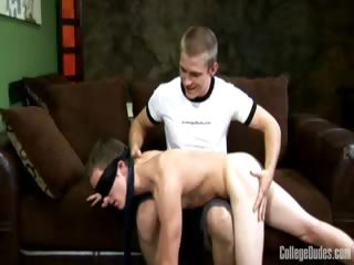 Porn Tube of Blindfolded And Spanked