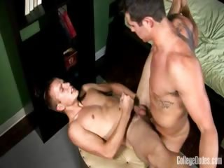 Porn Tube of College Dudes - Adam Campbell Fucks Rob Ryder