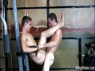 Porn Tube of College Dudes -  Cory Flynt Fucks Titus Gallen