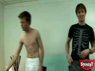 Porno Video of Broke Straight Boys - Price And Daniel Anal 2