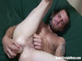 Porno Video of Broke Straight Boys - Colin And Toys