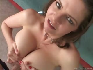 Porno Video of Hot Milf Tit Fucking A Guy In Pov With Her Enormous Fun Bags