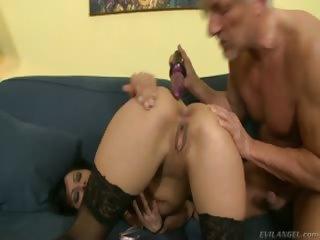 Porno Video of Christoph Clark Fucks This Girls Ass Hard  Massive Dildos