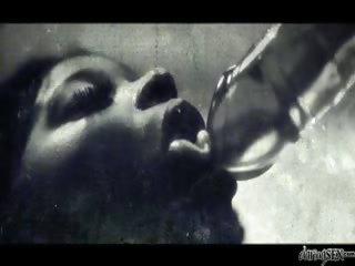 Porno Video of Sexy Ebony Slut Gets Fucked By A Hard Dick And Pink Dildo!