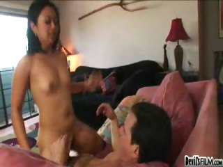 Porn Tube of My Mom Loves That Her Pussys Hair Is On Dick When She Fucks