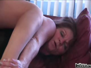 Sex Movie of Granny Asking 4 Hardcore Sex! Watch Her Feeling A Hard Cock!