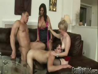 Porn Tube of Crazy Bisexual Action In This Hot Fuck Fest With Two Couples