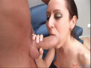 Porn Tube of Dirty Little Babe Is Bored So She Decides To Blow This Cock
