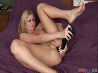 Porn Tube of Young Gal Enjoying Double Penetration With Her Shiny Toys!