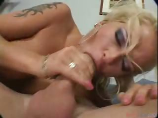 Porn Tube of Nice Looking Blondy Gets A Nice Cock In Her Ass & Screams