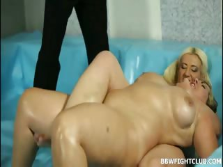 Porn Tube of Big-titted Bbw Wrestlers