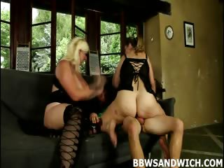 Porn Tube of Cruel Bbw Dominatrixes