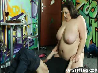 Porn Tube of Bbw Ass Facesitting Guy