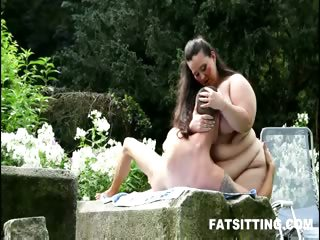 Porn Tube of Bbw Face Smothering