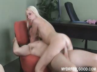 Porn Tube of Horny Blonde Alexia Fucks Doctor