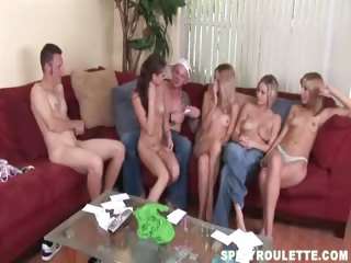Porno Video of Amateur Swingers Performing Funny Sex Dares