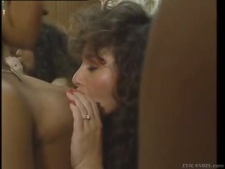 Porno Video of Keisha Fucks A Guy In A Restroom And A Ebony Beauty Joins In