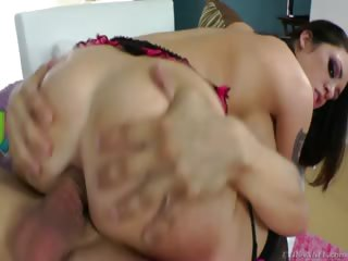 Porn Tube of Melina Likes It Deep & Hard When It Comes To Ass Fucking !