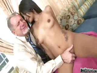 Porno Video of Hot Latina Teen Shows Her Stepdad Just How Slutty She Can Be
