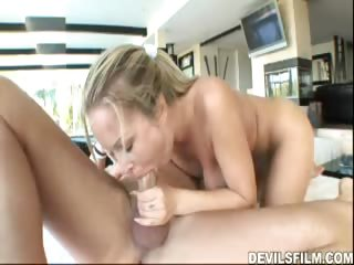 Porno Video of Horny Babisitter Whore Gets Her Asshole Drilled During Work