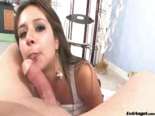 Porno Video of Spicy Latina Sucks A Dick Until The Last Fucking Drop Of Cum