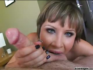 Porno Video of Katie St Ives Enjoys Sucking A Big Cock & Getting Facial