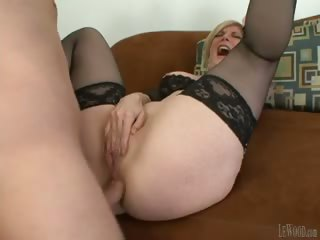 Porno Video of Mark Sure Knows How To Please Dirty Milfs Like Nina Hartley!