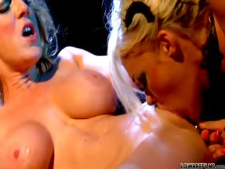 Porno Video of Slowly, Sexy And Intense Scene With A Doll And A Blond Lady!