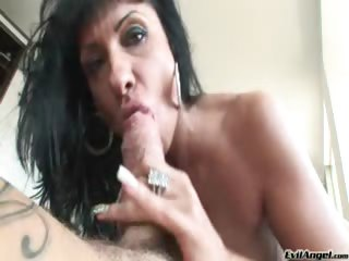 Porno Video of Sexy Milf Blows Nacho Vidal's Big Hard Cock For Hardcore Sex