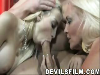 Sex Movie of Gorgeous Blondes Enjoy Sucking Cock &getting Fcked Like Hoes