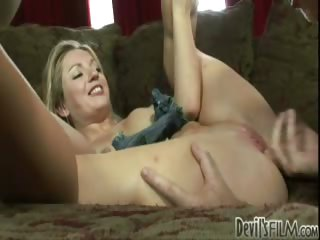 Sex Movie of Blonde College Girl Gets Fingered By Her Own Stepfather!