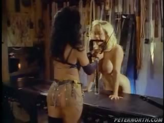 Porn Tube of Blonde Slave Gets Torture By Domina And Gets Fuck Hard
