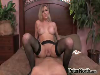 Porno Video of Hot & Horny Blondie Gets Her Favorite Cock In Her Wet Pussy