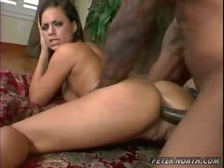 Porn Tube of Mia Bangg Loves The Big Black Cock In Her Wet Pussy And Ass