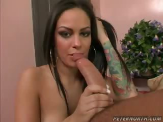 Porno Video of Hot Angelina Valentina Tries A Big Fat Cock Inside Her Pussy