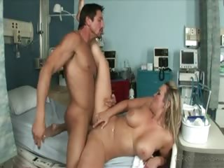 Porno Video of Big Titted Blonde Nurse Rammed By Tommy Gunn In This Video
