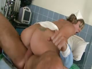Porno Video of This Super Hot Blonde Nurse Enjoys Fucking At Work !