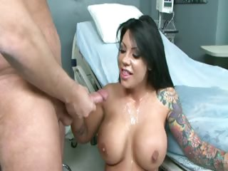 Porno Video of Cumshots From Big Breast Nurses 3 Compiled In One Scene