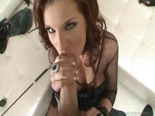 Porno Video of Angel Down On Her Knees Ready To Suck Some Cock In This Pov