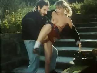 Porn Tube of The Gardener Won't Let The Hot Cheerleader Pass Without Sex!