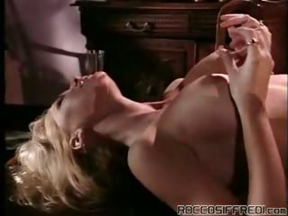 Porno Video of 2 Cute & Horny Lesbians Eating Their Wet Pussies On A Table