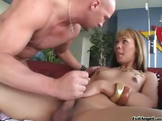 Porno Video of Watch This Amazing Ladyboy Fucking & Sucking A Hot Dude!