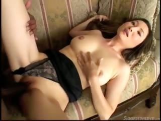 Porn Tube of She Plays With Her Natural Beauties And Takes In A Huge Cock