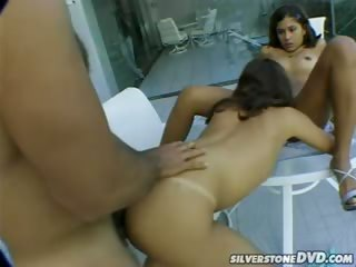 Porn Tube of Two Horny Latinas In A Amazing Threesome In This Hot Video