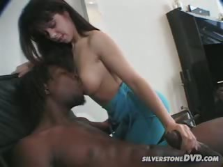 Porn Tube of Cute Sheila Enjoys Sucking A Big Black Cock & Getting Fucked