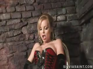 Porno Video of Silvia Saint Is A Harsh Mistress To Her Sexy Submissive Toy