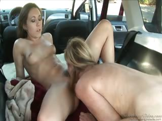 Porno Video of Lesbian Hitchhiker #02