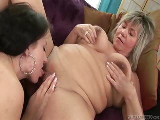 Porno Video of My Grandma's A Lesbian #02
