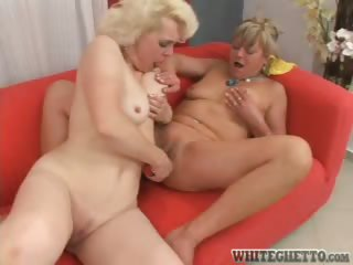 Porn Tube of Real Lesbian Moms